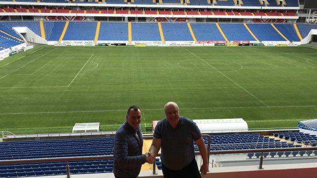 Handover of Rostov Arena