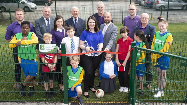 MUGA mini pitch school 3G synthetic pitch