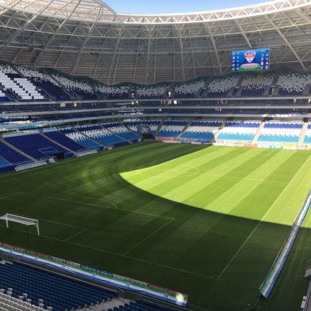 SISGrass World Cup Pitches Samara Arena Comos