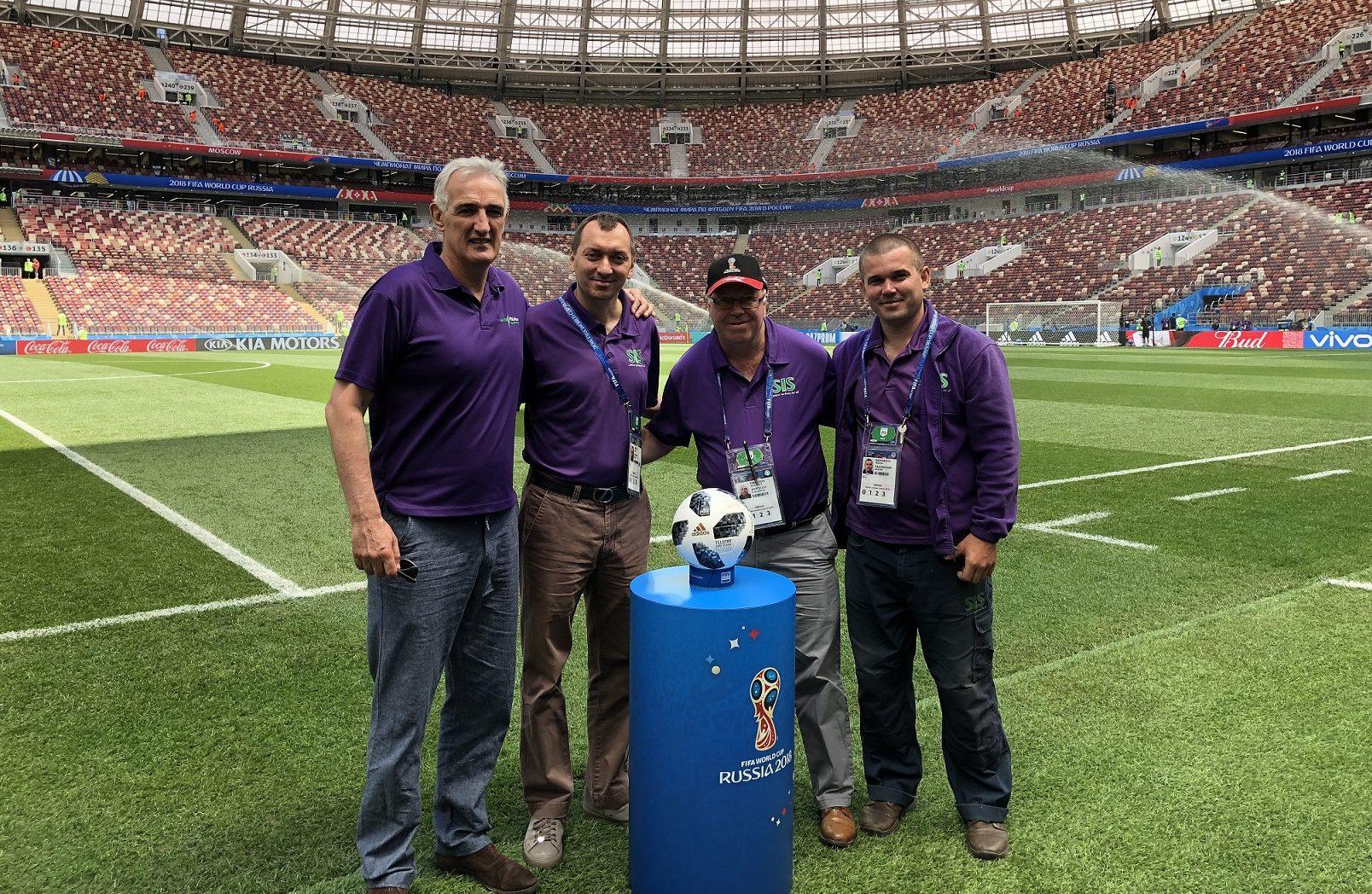 SIS Pitches Team SISGrass World Cup Stadium