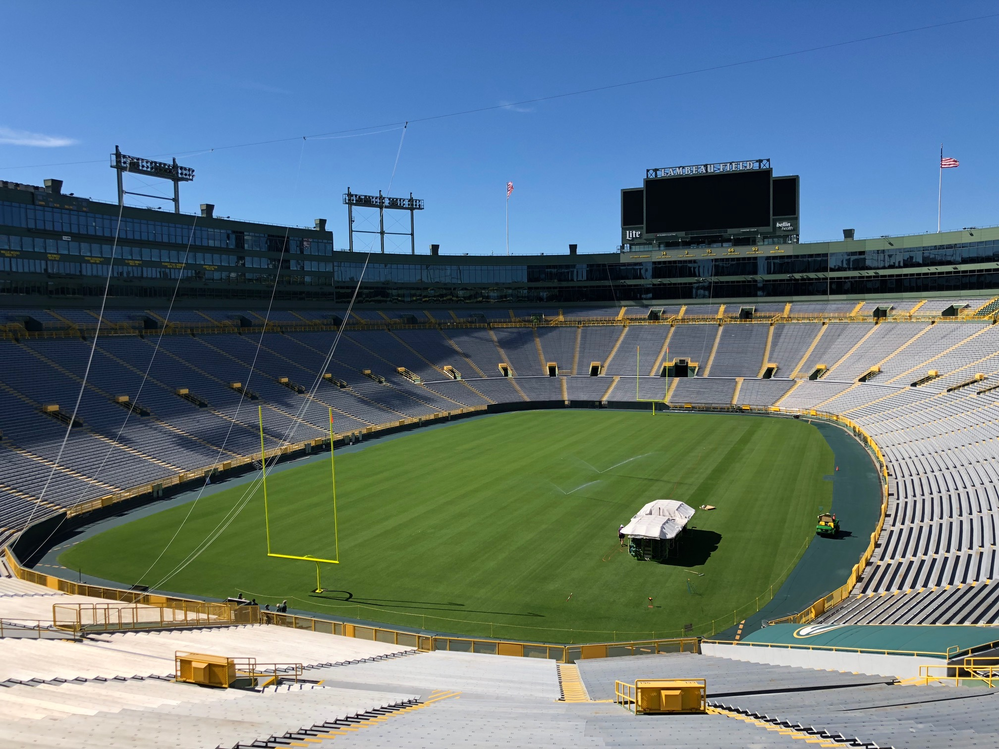 Touchdown With The Latest Sisgrass Technology At Green Bay Packers Sis Pitches