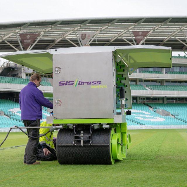 cricket pitch installation