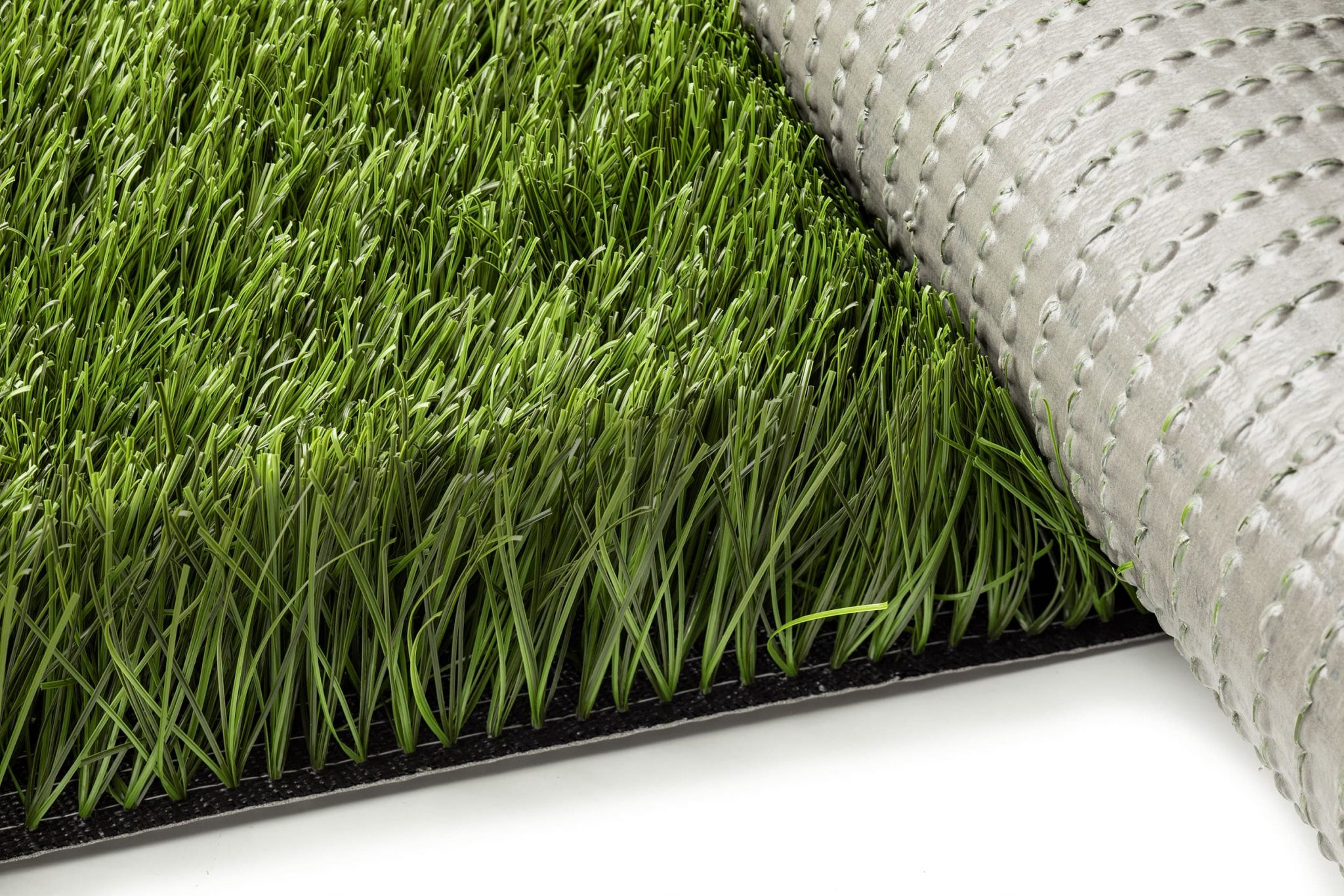Synthetic pitch turf; Polyurethane PU backing