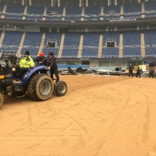 Tianjin Olympic Centre benefits from a new technologically advanced pitch
