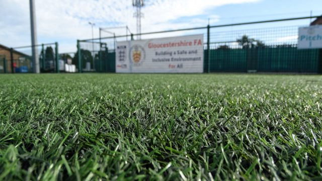 SIS Pitches 3g pitch maintenance Gloucestershire FA