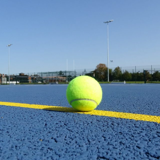 Warwick School SIS Pitches tennis court