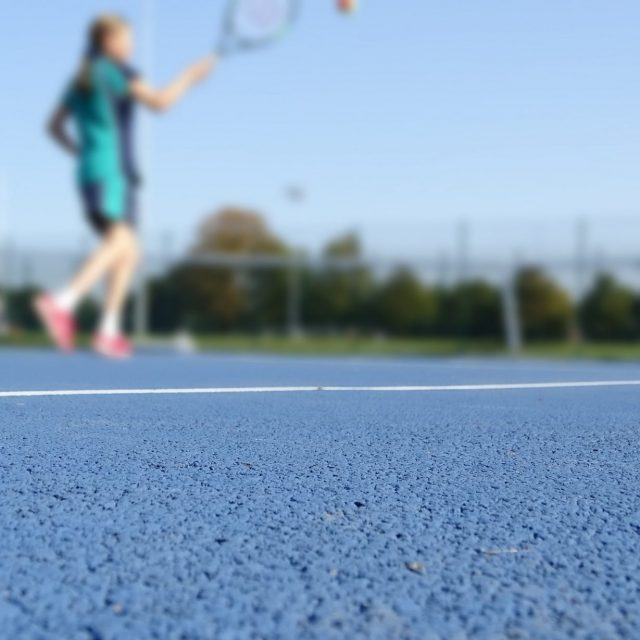 Warwick School tennis courts SIS Pitches