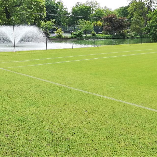 SISGrass tennis court, Hyrbid tennis court