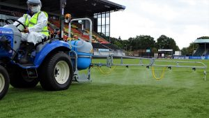 SISCleanse treatment for sports surfaces
