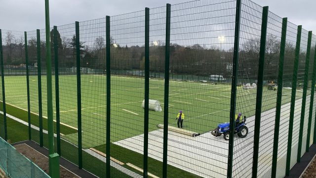 University of Nottingham pitch resurface - SIS Pitches